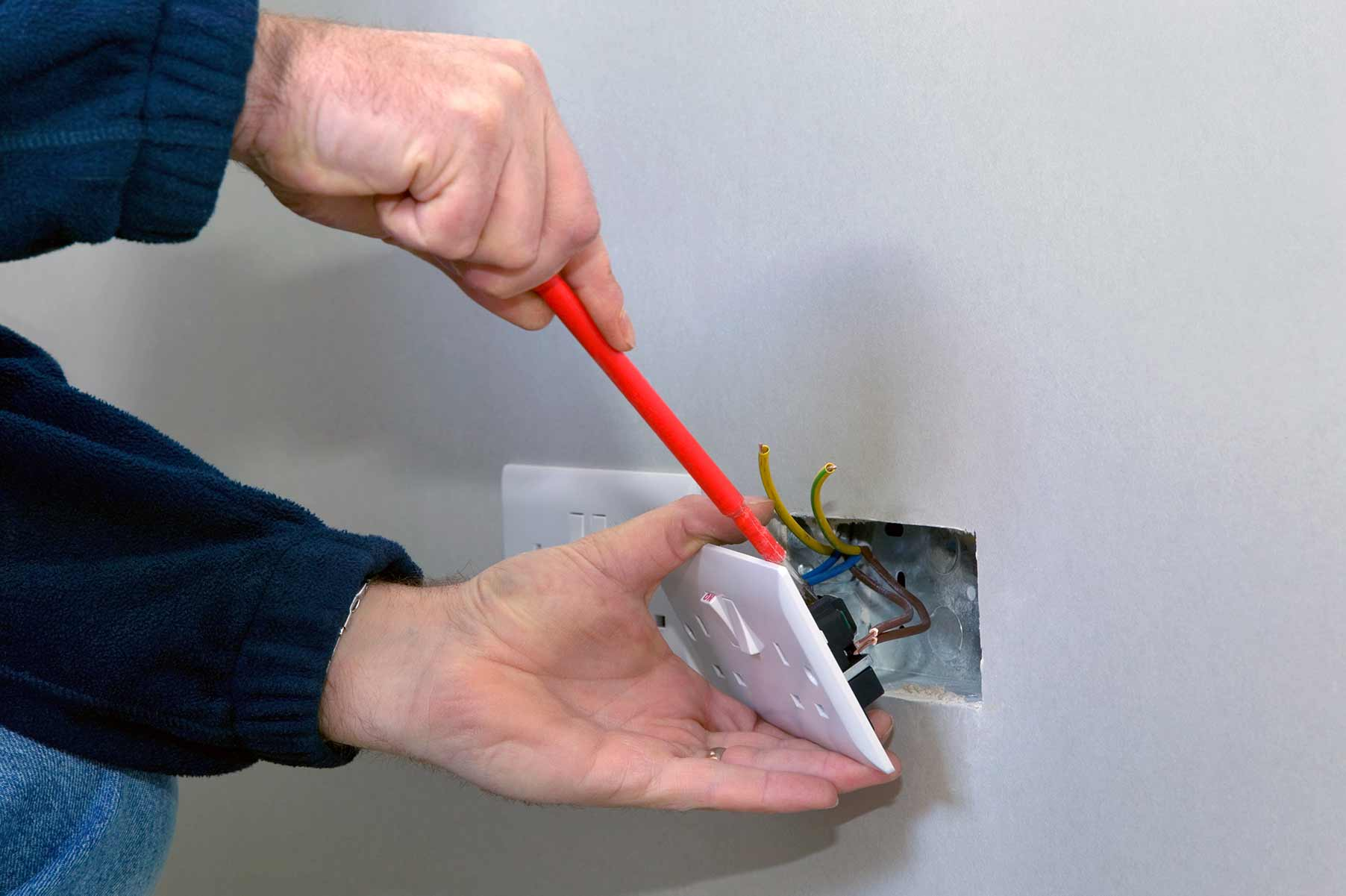 Our electricians can install plug sockets for domestic and commercial proeprties in Catford and the local area.